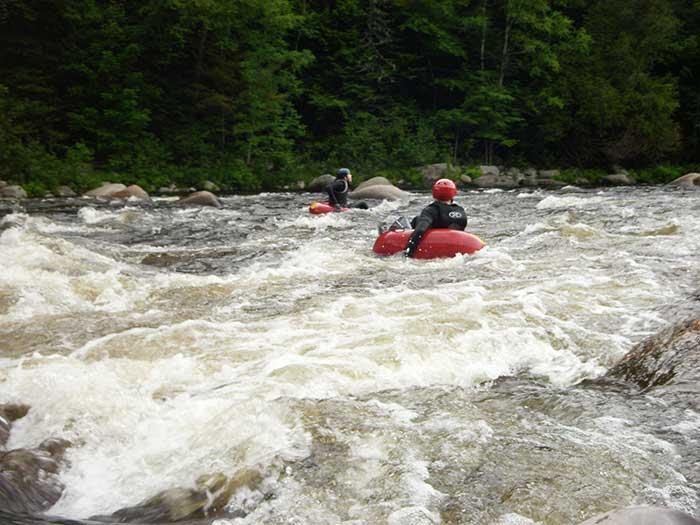 Bullfrog Adventures The Dead River Tubing Trip Maine River