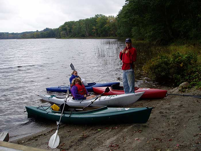 Donnell Pond Kayaking Trip